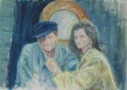 <p>olej, tektura, 70 x 50 cm, 2009</p>