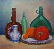 <p>olej, płótno, 40 x 40 cm, 2008</p>