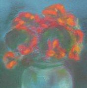 pastel, papier, 25 x 25 cm, 2009